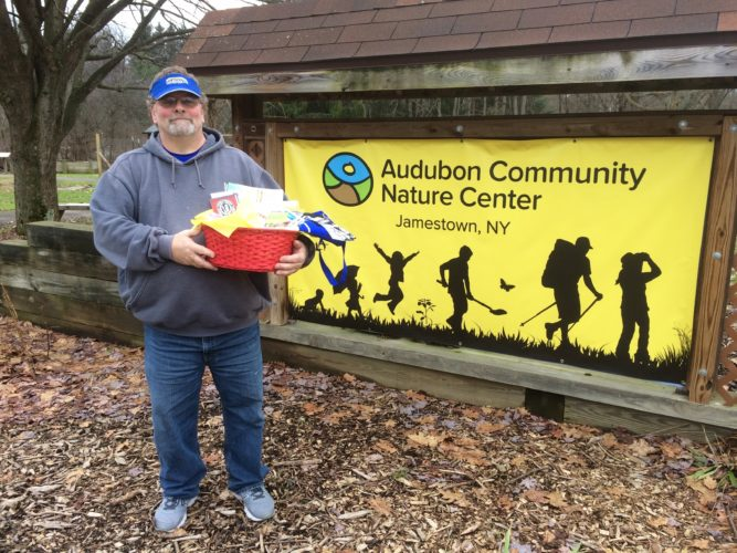 Charlie Clark, Audubon Community Nature Center giveaway winner.