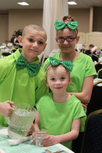 4-Hers from the Fluvanna Farmyard Friends helped prepare the Chautauqua Suites for the 2016 Green Tie Affair. This year's event takes place Sunday.