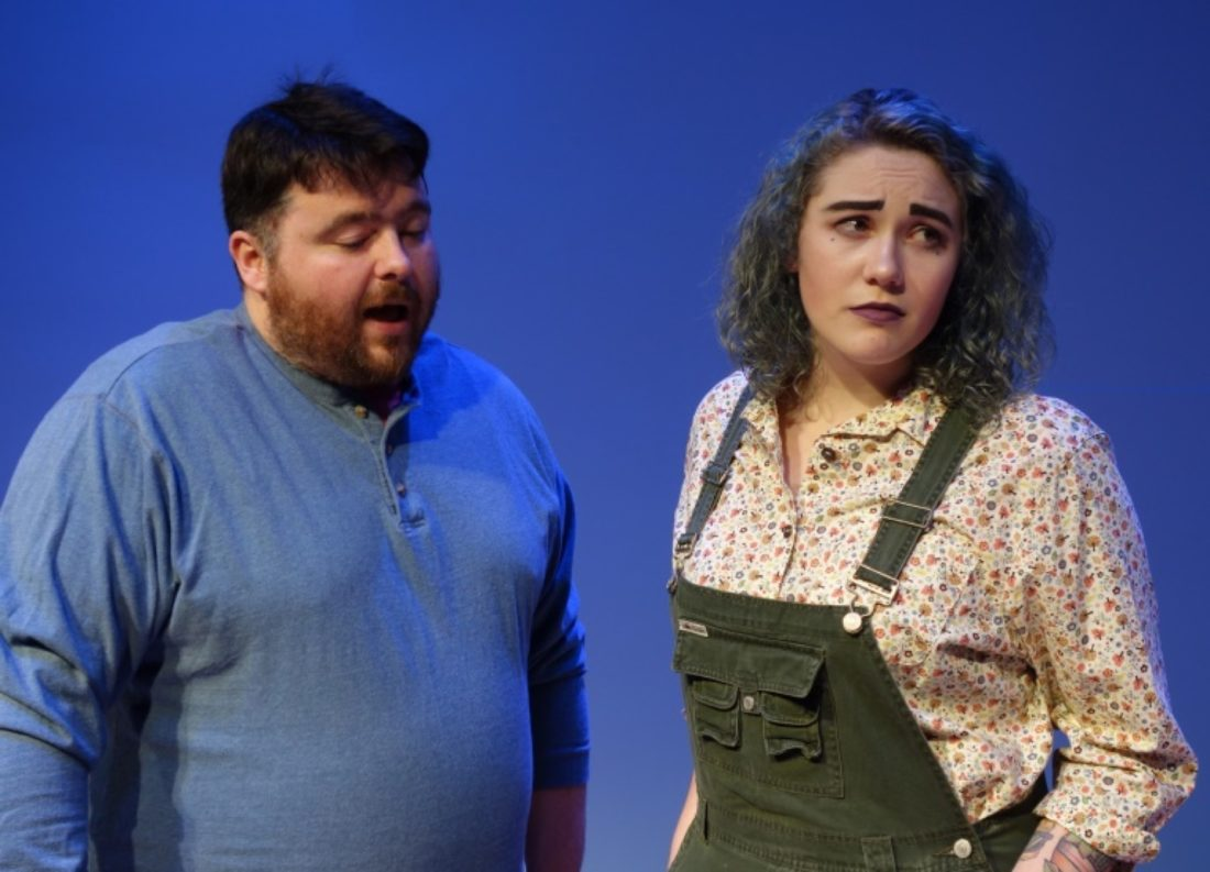 Cast members Kipp Reynolds and Whitney Poindexter are pictured. Submitted photos
