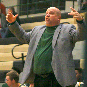 Jamestown Community College men's basketball coach George Sisson and the rest of the Jayhawks will square off against the CC of Beaver County at 5 p.m. today at the Physical Education Complex. Jamestown CCwill open its postseason a week from today. P-J file photo by Scott Kindberg