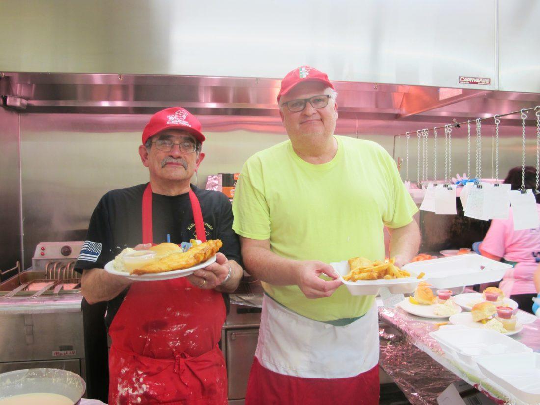St john s church hosts annual lenten fish fry news for Local fish fry