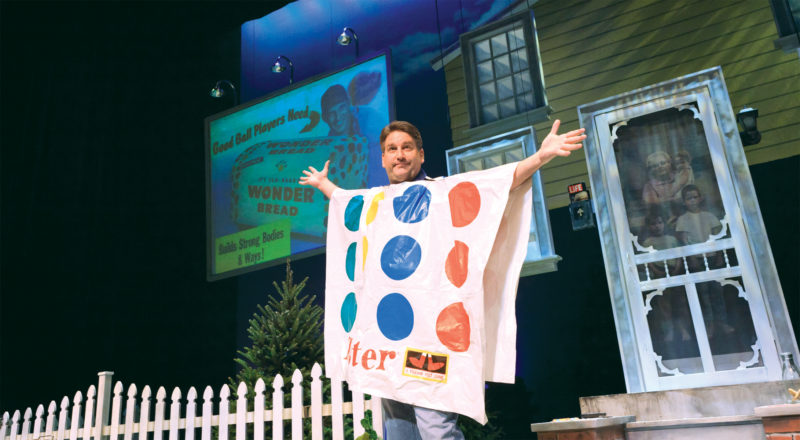 "Pat Hazell, a former writer for ""Seinfeld,"" will bring his one-man show ""The Wonder Bread Years"" to the Reg Lenna Center for the Arts on Saturday, beginning at 8 p.m. Submitted photo"
