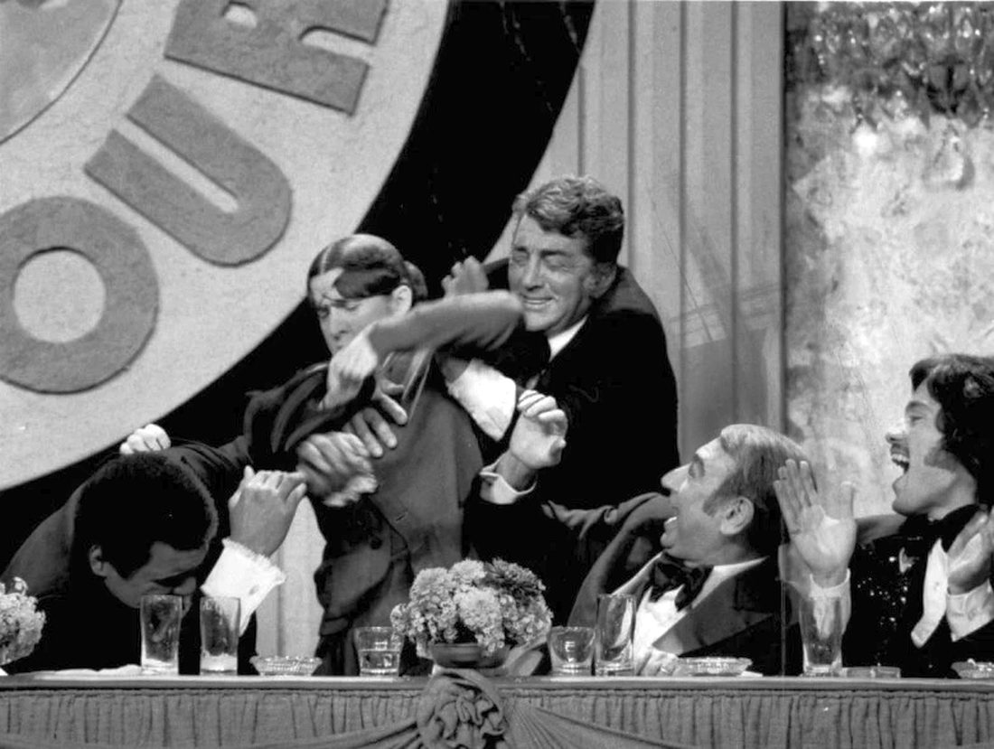 Not even  Muhammad Ali was spared Ruth Buzzi's attacks in this 1976 Roast - screen shot