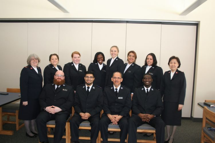 Salvation Army Cadets