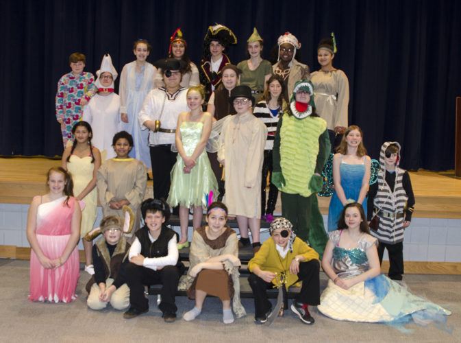 The musical Peter Pan Jr. will be playing at Washington Middle School on Wednesday and Thursday. Submitted photo