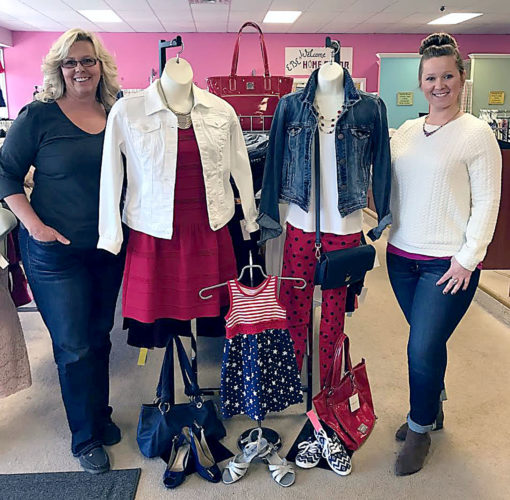 EBE's Originals, located at 135 E. Fairmount Ave. in Lakewood, is celebrating its 25th anniversary this year. From left, owner Bobbi Bragg and her daughter, manager Andrea Bragg. Submitted photo