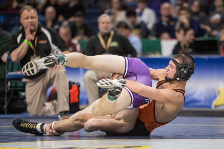 Fredonia's Hector Colom finished this season with a 50-2 record and a second-place finish in Division II at the NYSPHSAA Championships. P-J file photo