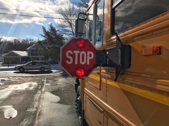 Jamestown police said it is participating in Operation Safe Stop today. The program promotes school bus safety.  P-J file photo