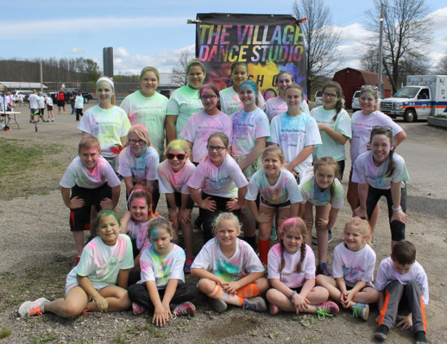 "The Village Dance Studio is planning its ""Dash of Color 5K Fun Run"" and chicken barbecue to benefit the studio's Disney Dancers."