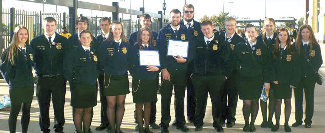 Southern Local FFA  attends National Convention