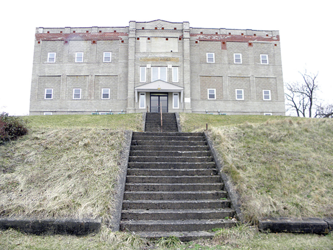 The former Pleasant Heights School in East Liverpool is being eyed as a residential drug and alcohol treatment center for women, a plan which will be the subject of a public hearing March 9. (Photo by Jo Ann Bobby-Gilbert)