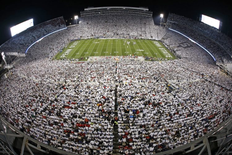 Ohio State will again be Penn State's whiteout opponent.