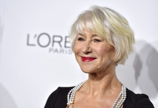 ASSOCIATED PRESS Helen Mirren arrives at the 23rd annual ELLE Women in Hollywood Awards at the Four Season Hotel on Monday in Los Angeles.