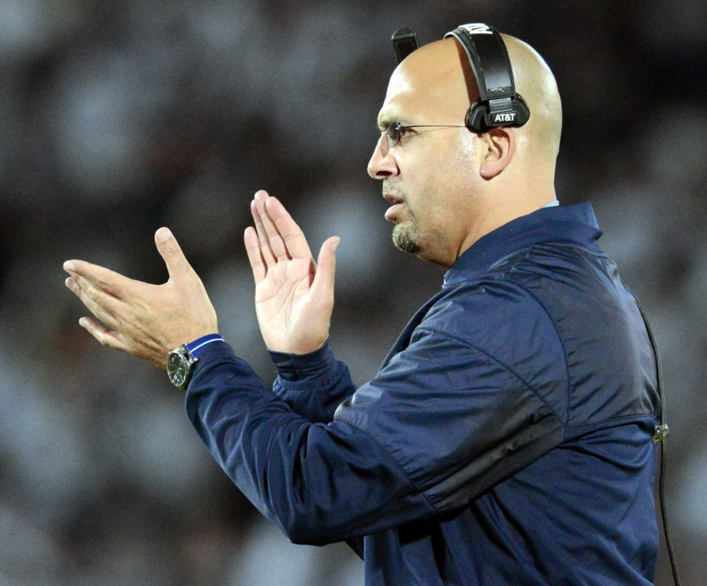 James Franklin refuses to get drawn into playoff scenarios and bigger picture discussions.