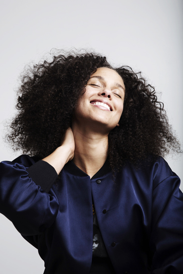 "In this Nov. 2, 2016 photo, Alicia Keys poses for a portrait in New York, to promote her sixth album, ""Here."" (Photo by Taylor Jewell/Invision/AP)"