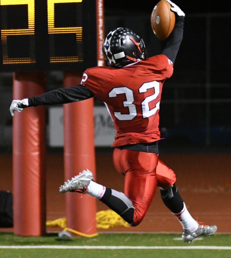 Elliott Walker's three touchdown game vs. State College has Williamsport in the PIAA quarterfinals.