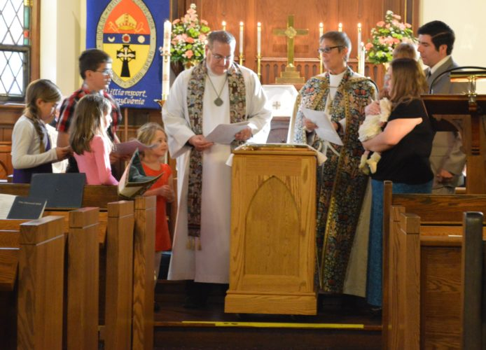 Pictured is the Baptism of Joseph Henry Lavallee. PHOTOSUBMITTED