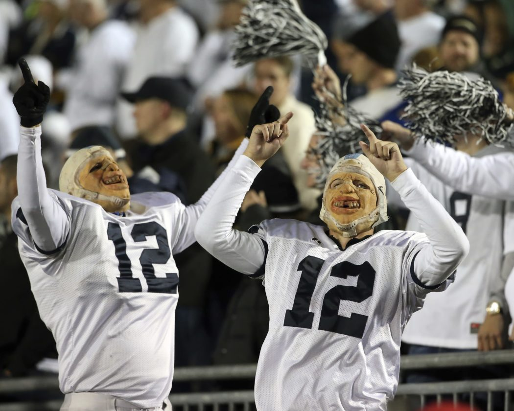 Penn State fans could find their team headed to the Big Ten title game next weekend with a win and Michigan loss.