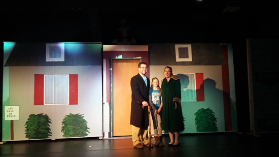 "PHOTO PROVIDED Courtyard Theatre will present ""Miracle on 34th Street,"" with performances 7:30 p.m. tomorrow and Saturday and a 2 p.m. Sunday finale at the Courtyard Theater, in Selinsgrove's Susquehanna Valley Mall."