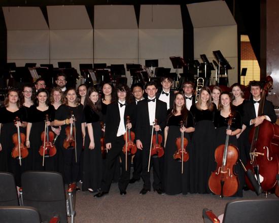 PHOTO PROVIDED Williamsport Area High School PMEA District 8 participants.