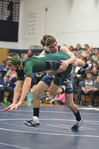 "By MITCH RUPERT mrupert@sungazette.com  There was a moment in late January when Muncy coach Denny Harer spoke of Gaveyn Eisenhower almost as a warning. You know, one of those warnings where a person looks at you through the top of their eyes to make sure you get the point. Harer's sophomore backup middleweight had just earned a major decision against Hughesville as the Indians cruised to a victory and the 11th-year head coach calmly spoke of the impact Eisenhower could have in Muncy's lineup. At that point in the season, Harer was using Eisenhower only when necessary, as a way to shuffle the lineup and get better matchups for the likes of Coleman Good, Dan Hall and Noah Gush. But almost as if he had a crystal ball in front of him, Harer said just wait. There was a lot of potential in Eisenhower if he could just get his weight down to 140 pounds to be eligible for the 138-pound weight class. Last Saturday at Hughesville High School, Eisenhower made his coach look prophetic. He went 3-1 at 138 pounds to finish third at the District 4 Central Sectional to earn his first bid to the District 4 tournament, which begins Friday at Williamsport High School. Not bad for someone who wrestled only 14 matches during the season. ""Not a lot of people know about him because he's behind a couple hammers,"" Harer said on Jan. 21. ""Once he gets in the lineup, it's going to be nice to have him there."" Eisenhower defeated returning district qualifier Evan Williams in the 138-pound third-place match to finish off a day in which he firmly entrenched himself as a name to watch at districts. Sure, those filling the bleachers of the Magic Dome may not know much about him, but his past opponents sure do. He enters the tournament with a 13-5 record, but half of those wins went for bonus points. He wasn't just a warm body Harer threw to the wolves during the dual-meet season to get the most points out of other wrestlers. Harer put him on the mat to win. And his confidence in Eisen­hower exuded after that January major decision win against Hughesville. At the time, Eisenhower was following his descent plan to get to 140 pounds and the hope was he would be there in time for the District 4 Duals tournament, giving the Indians another wrestler it could count on in what was going to be a tight tournament. Unfortunately, his descent plan allowed him to weigh in at only 140.1 pounds when district duals rolled around. He was in the lineup only once during the tournament and that was in the preliminary round against Hughesville when he took a forfeit at 145 pounds. For Eisenhower, waiting patiently for an opportunity to get a starting spot was tough. But he knew his patience would eventually pay off. ""It was kind of rough. It was very rough,"" Eisenhower said after receiving his third-place medal Saturday. ""But you have to work hard and wait for your moment. And when that moment comes, you have to take it."" Consider the moment taken. Eisenhower opened sectionals with a 9-2 win over Loyalsock's Jacob Waltz, who ended up a win short of districts. After falling to Benton three-time state placewinner Mike Stuart, Eisenhower picked up a fall to secure his spot at districts. But he wasn't done, he beat Williams, 6-4, to finish third. It was a long day, one in which he had to work all week to make sure happened. The cut to get to 140 pounds wasn't easy for Eisenhower. He ate a steady diet of ice cubes during the week to try and maintain his weight and had to run off nine-tenths of a pound before weigh-ins to make sure he was ready when he got on the scale. ""It's hard to maintain the weight. To know you have to cut weight, then you go to school and have to watch everyone eat around you, that's the hardest part,"" Eisenhower said. ""I was eating ice cubes all week. Ice cubes were my best friend for the week."" But by the end of the day he was feeling great. He put some food in his stomach and he finished his fourth match of the day, a tough six minutes against Williams, strong to win the consolation final. Now, he said, this week will be about maintaining a good weight so he doesn't have to cut a bunch of weight come Friday. ""After all this hard work, I'm not going to let it go to waste,"" Eisenhower said. ""My first match I was out of energy pretty much the whole time. But after that first match I was energized the rest of the day."" Eisenhower goes into the district tournament with his confidence at an all-time high. He's ecstatic with the performance he was able to put on just one year after competing for the junior high team. ""This is an amazing feeling,"" he said. ""I always felt I could do this if I could just find a spot."""