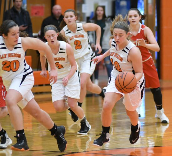 MARK NANCE/Sun-Gazette Jersey Shore's girls basketball team is in the District 4 Class AAAA semifinals tonight vs. Montoursville at Milton.