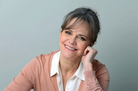 """In this March 3, 2017 photo, actress Sally Field poses for a portrait in New York. The Emmy- and Oscar-winner is playing Amanda Wingfield, the fearsome Southern belle at the heart of the Tennessee WilliamsÕ masterpiece, """"The Glass Menagerie,"""" on Broadway. (Photo by Amy Sussman/Invision/AP)"""