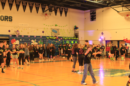 PHOTOPROVIDED Shown are South Williamsport Area High School students participating in their miniTHON.
