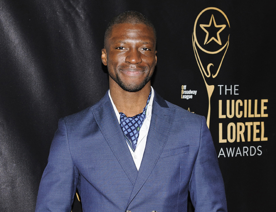 In this photo, actor Michael Luwoye attends The 2016 Lucille Lortel Awards for Outstanding Achievement Off-Broadway in New York. The 26-year-old Alabama native stars as Alexander Hamilton in the ÒHamiltonÓ national tour, which kicks off in March with a 21-week stand in San Francisco, followed by a 21-week engagement in Los Angeles. (Photo by Christopher Smith/Invision/AP, File)