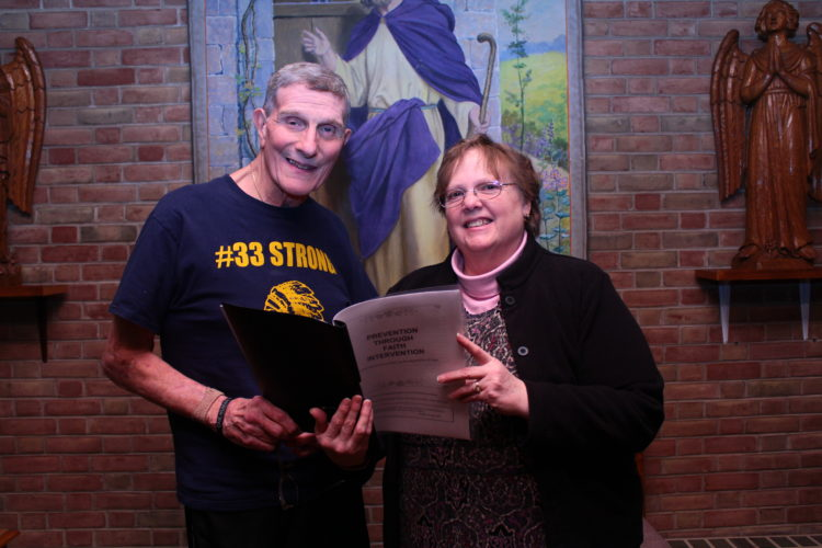 The Revs. John Manno and Gwen Bernstine have helped develop a Sunday school program in an effort to positively influence young minds to steer clear of harmful drugs. MEGAN BLOOM/Sun-Gazette