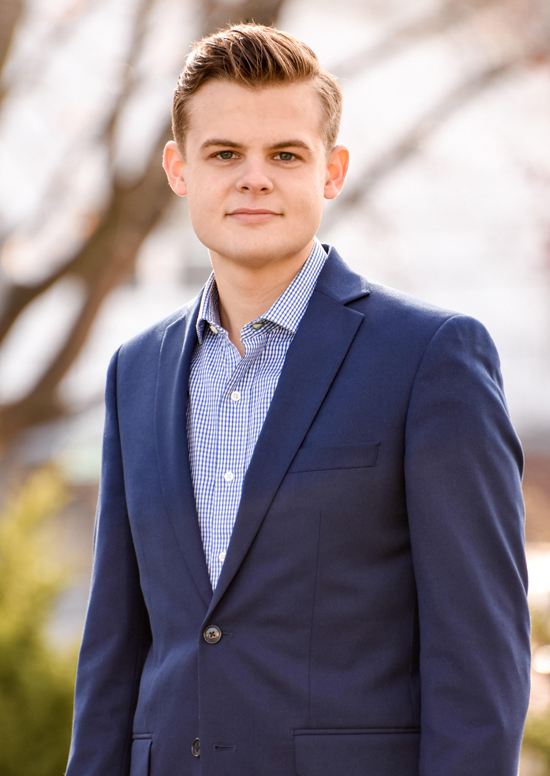 PHOTOPROVIDED Walker Konkle recently has been named the recipient of Penn State's John W. Oswald Award for Creative and Performing Arts.