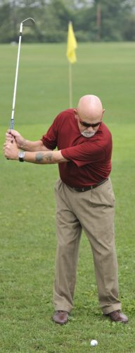 Tempo means nothing more than a smooth transition from the backswing to the downswing. (PHOTO PROVIDED)