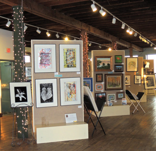News Photos by Diane Speer Art in the Loft currently is showcasing its latest WinterView Exhibit featuring works by 33 artists. The exhibit will remain up through March 4, 2017.