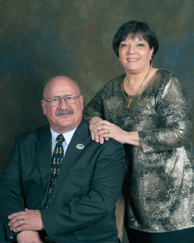 Wayne and Karen McWilliams of McWilliams Funeral Home