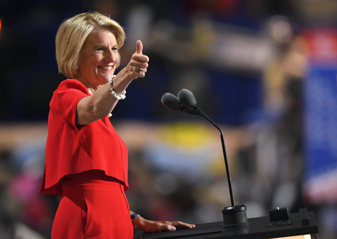 Sen. Shelley Moore Capito delivers speech at RNC