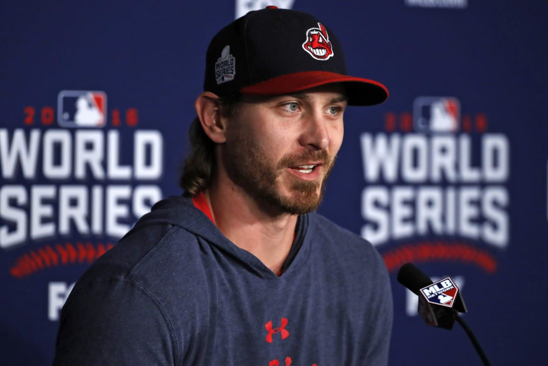 LEADING OFF: Can Bauer, Indians celebrate at Wrigley?