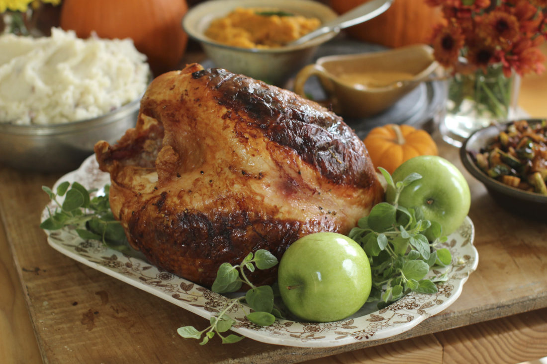 This Sept. 28, 2015 file photo shows Italian-style roast turkey breast ...