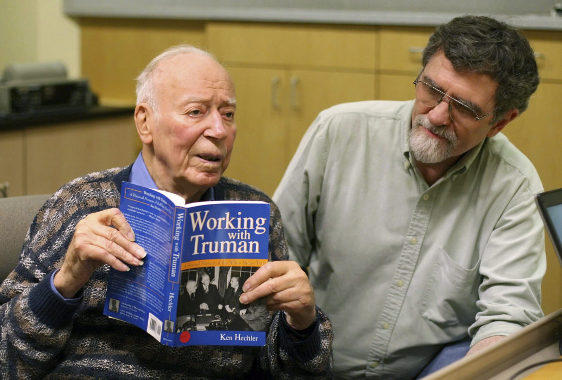 West Virginia statesman, author Ken Hechler dies at 102