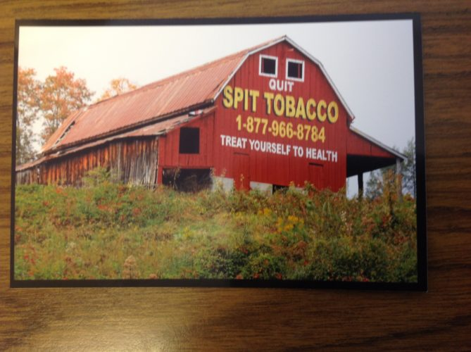 """Sistersville resident Jane Knight's photographs,       including this shot that she titled """"Spit Tobacco,"""" will be exhibited Jan. 8 at ArtsLink's Francis Creative Arts Center in New Martinsville.Photo Provided"""