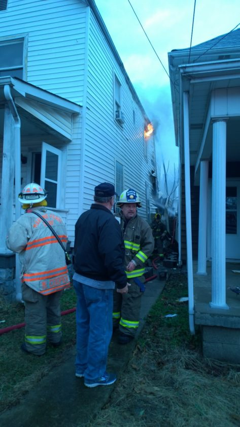 Crews Responding To Structure Fire In Martins Ferry