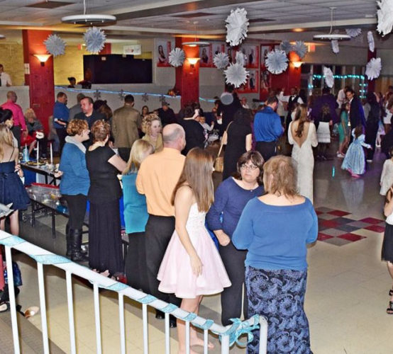The St. Clairsville High School/Middle School Cafetorium will be teeming with children ready to get dressed up and dance away the winter blues Friday night when the St. C. Singers play host to the 2017 Royal Family Snowflake Ball. (Photo Provided by Laura Zavatsky)