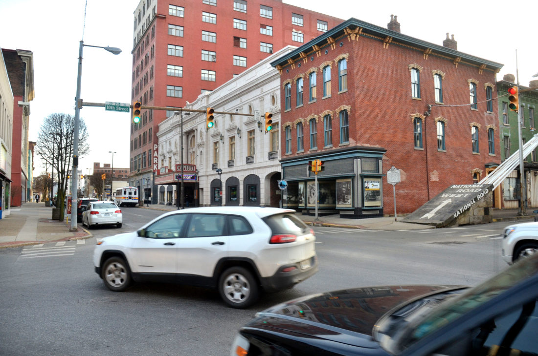 Photo by Scott McCloskey City of Wheeling leaders and the West Virginia Division of Highways have reached a tentative agreement for a major streetscaping project encompassing Main and Market streets between 10th and 16th streets, including all cross streets.