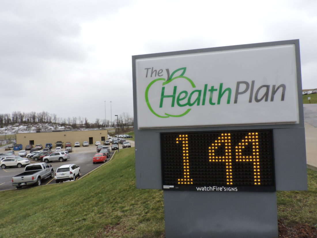 Photo by Casey Junkins The Health Plan is set to relocate all of the employees at its campus near St. Clairsville to a brand new structure in downtown Wheeling by the end of the year