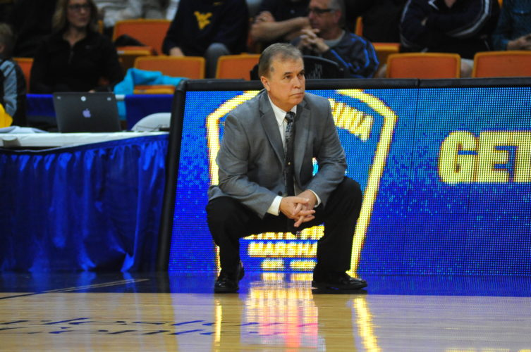 Photo Provided Jim Crutchfield watches the action during a West Liberty University game.