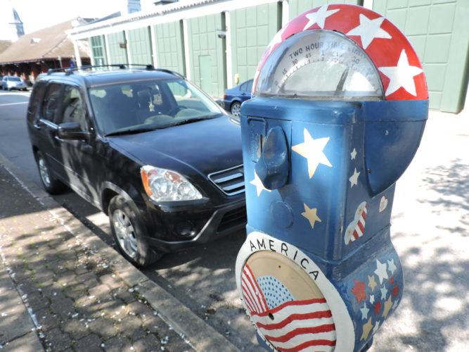 Photo by Casey Junkins Wheeling City Council will hold a public hearing Tuesday regarding plans to increase the fine for an overtime parking ticket from $3 to $10.