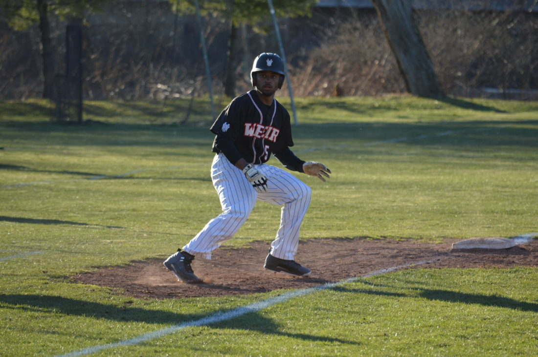 Whether on the track or the baseball diamond, Weir High's Donavan Spencer is a force to be reckoned with. Most of his days consists of school, then heading to practice of both spring sports.