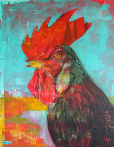 """""""Rooster Magic"""" by Beth Nash"""