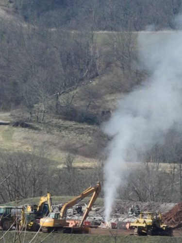 File Photo In December 2014, an unknown amount of methane leaked into the atmosphere over several days after an accident at a drilling pad in Monroe County.