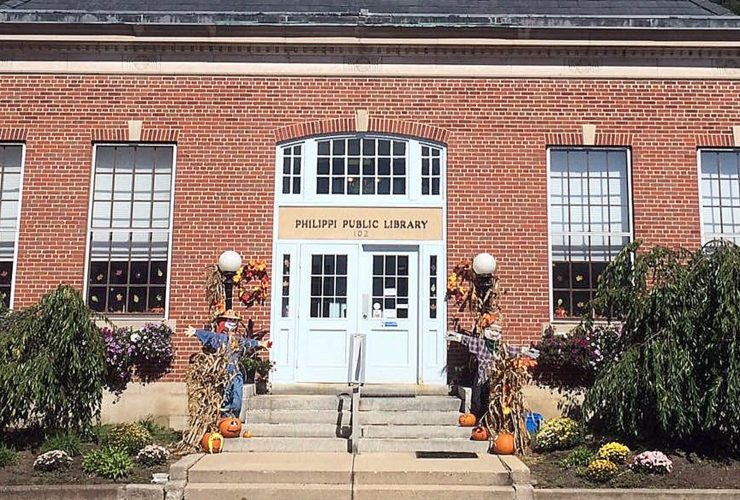 Submitted photo The Philippi Public Library will host a haunted library tour for Halloween during the Philippi Trick-or-Treat festivities from 5:30-7 p.m. Monday.