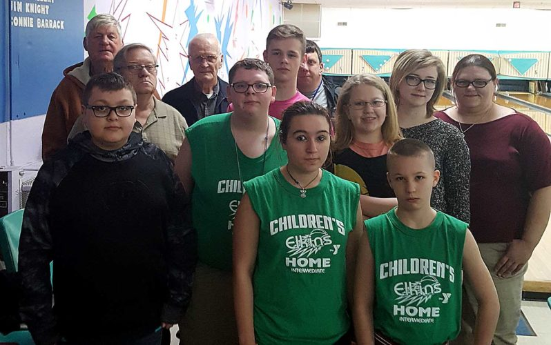 Submitted photo Elks Lodge No. 1135 hosts an annual bowling outing for children of the West Virginia's Children's Home.